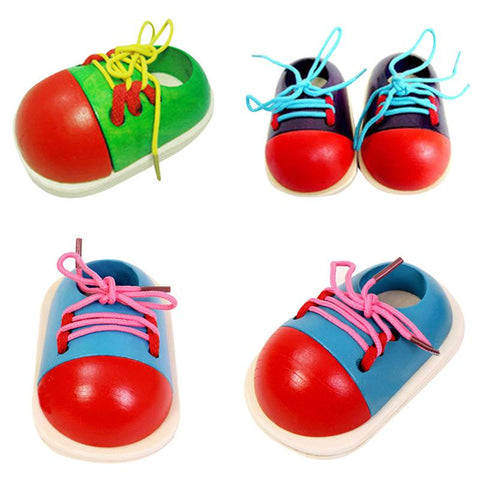 Activities & Toys - 1pc  Montessori Educational Toys, Shoelace Tying