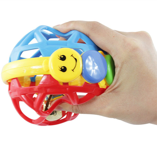 Activities & Toys - Educational Caterpillar Toy With Rolling Chime Ball