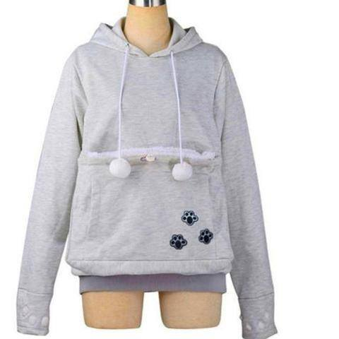Clothing - DOG LOVERS HOODIE WITH DOG CUDDLE POUCH