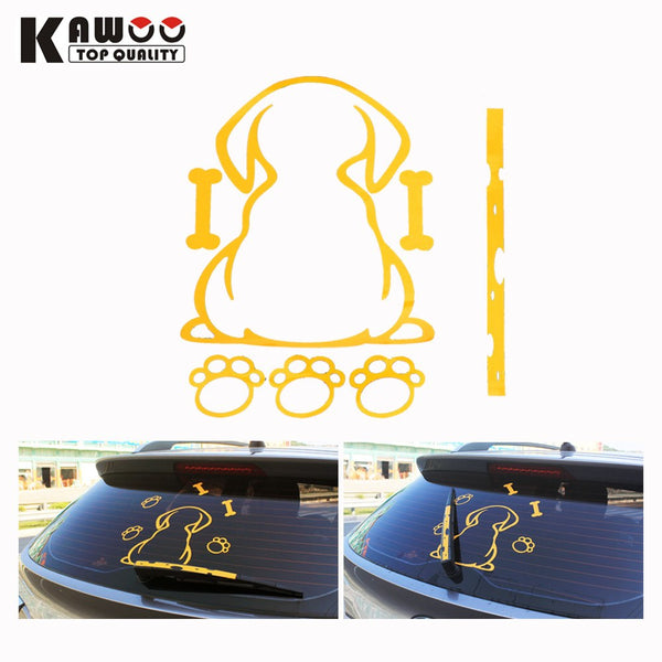 Decal - Rear Wiper Doggy Paw Print