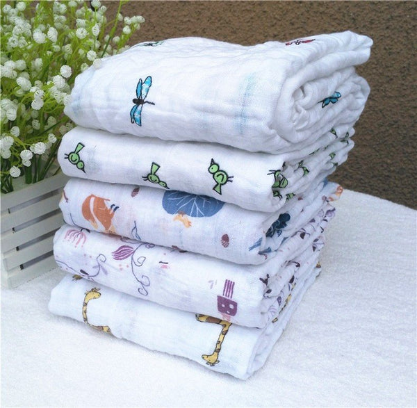 Diapering - Multifunctional Muslin/Cotton Baby Wrap