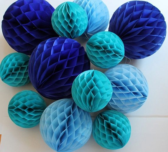 Festive & Party Supplies - Honeycomb Ball Party Decorations, 5-pieces