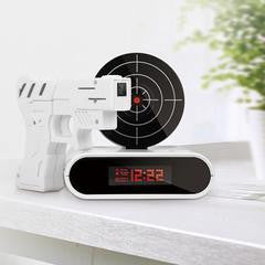 Shoot Up Alarm Clock