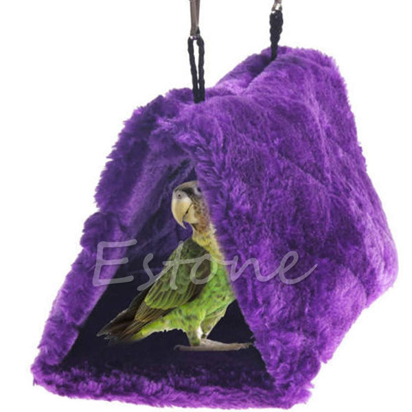 Housing & Decoration - Hanging Hammock Tent For Birds/Hamsters