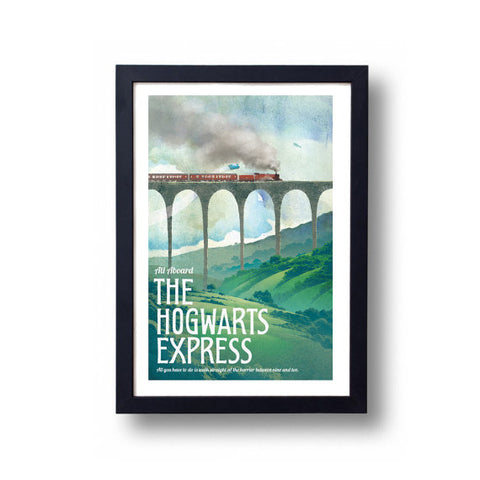 Limited Edition Hogwarts Express Canvas Painting