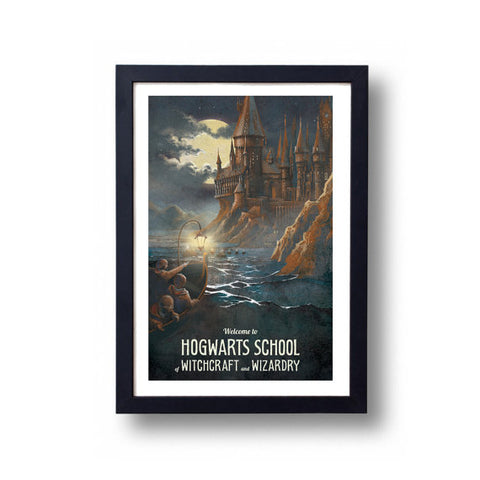 Limited Edition Hogwarts Castle Canvas Painting