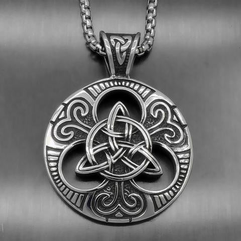 Irish Celtic Knot Necklace
