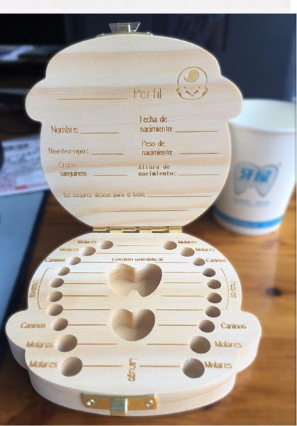 Keepsake - Tooth Box Organizer (Customizable)
