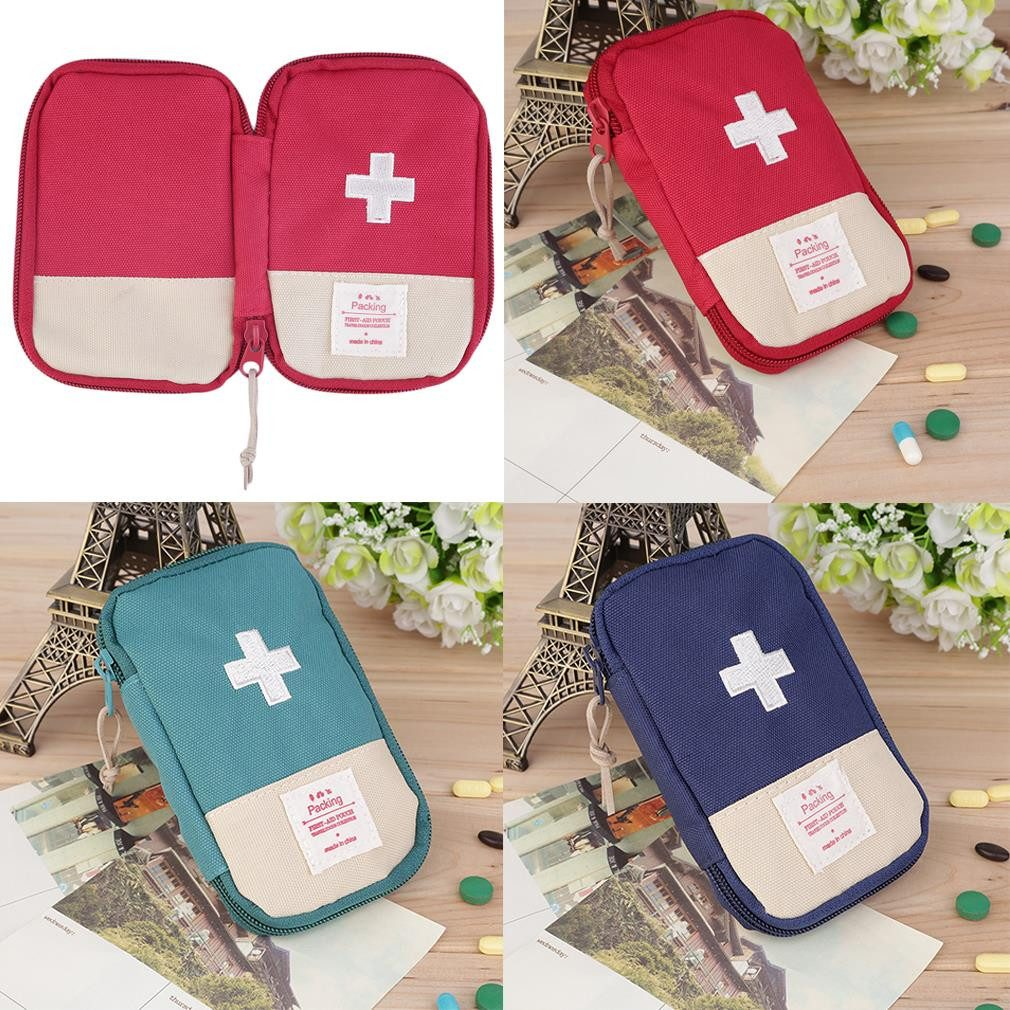 Outdoors - Portable First Aid Kit Bag Case
