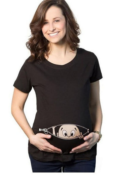 Snooping Baby Maternity Shirts