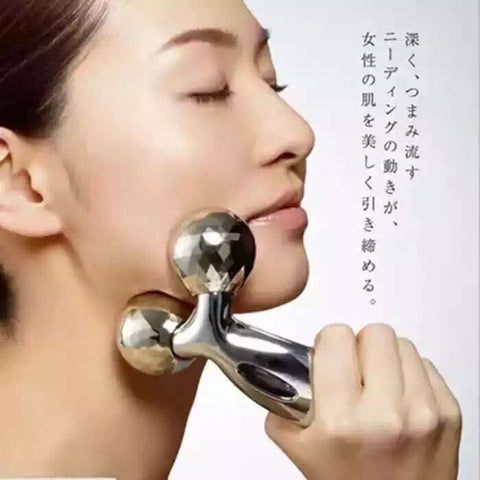 3D Face and Body Massage Roller