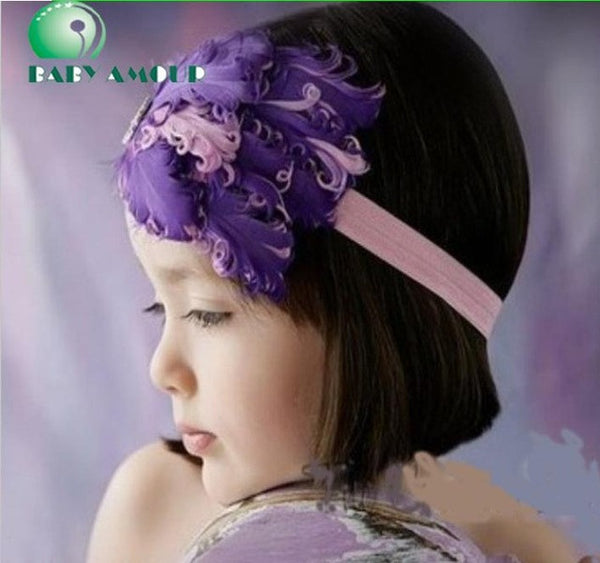 Infant/Baby Feather Headband