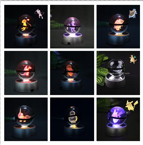 Real 3D Night Lights Pokemon Legends
