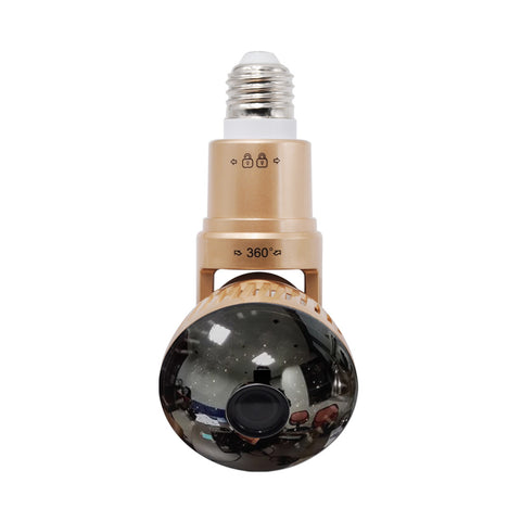 Bulb Warden - Wifi Security Camera