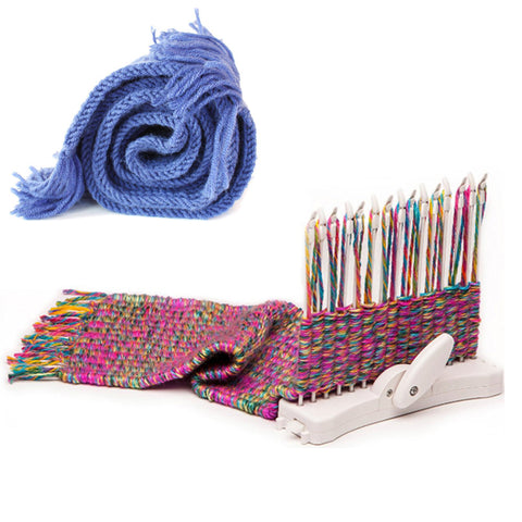 Innovative Scarf Weaving Loom