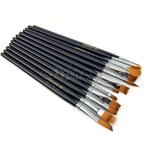 Acrylic Paint Brush, 12-piece set