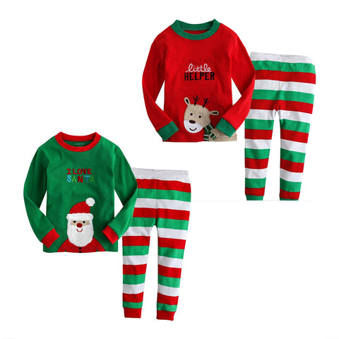 Santa Claus Christmas Pajamas Set