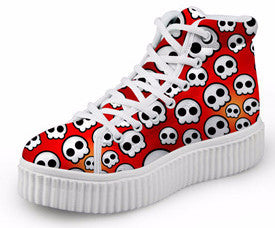 Limited Edition Skull High-Tops