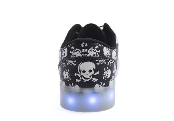 LIMITED EDITION Skull LED Shoes