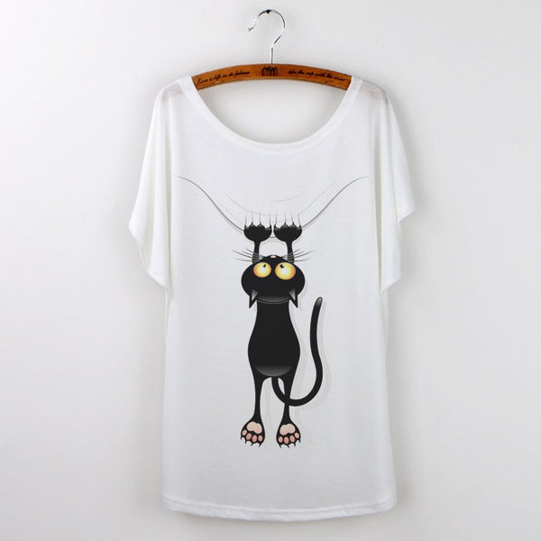 T-shirt - KuroNeko Black Cat T-Shirt