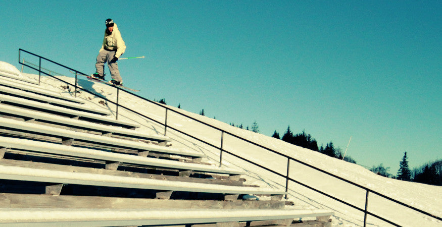 Will Wesson Skiing Rail