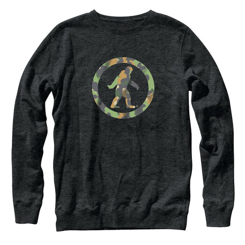 Camo Yowie Crew Fleece Sweatshirt
