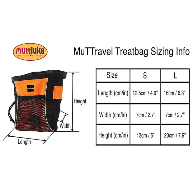 MuTTravel Treat Bag