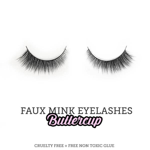 SugarVenom Faux Mink Eyelashes -  Buttercup