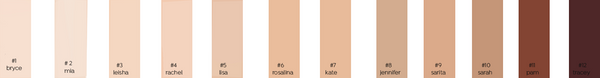 Sappho Organics Essential Foundation - Kate