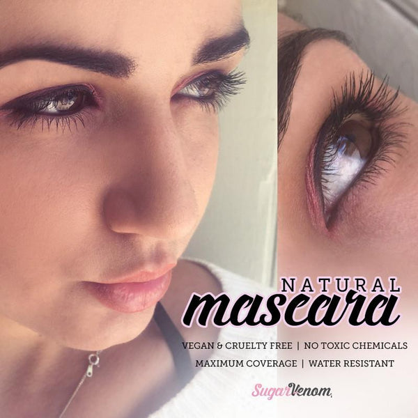 SugarVenom Natural Mascara - Black