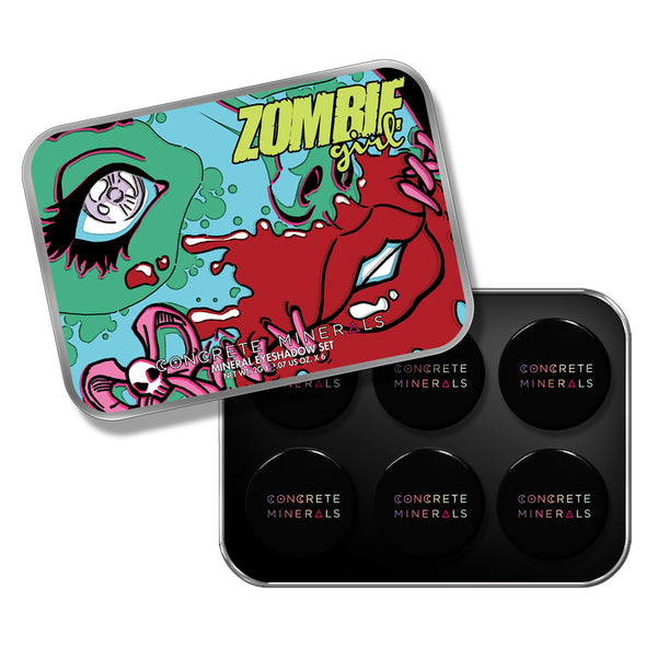 Concrete Minerals Collection - Zombie Girl