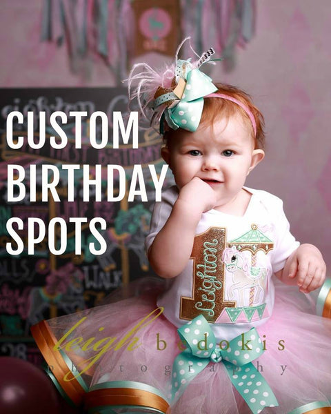 Custom Birthday Spots