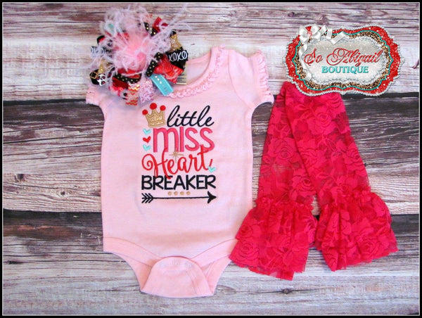 Little Miss Heart Breaker Bodysuit / Shirt