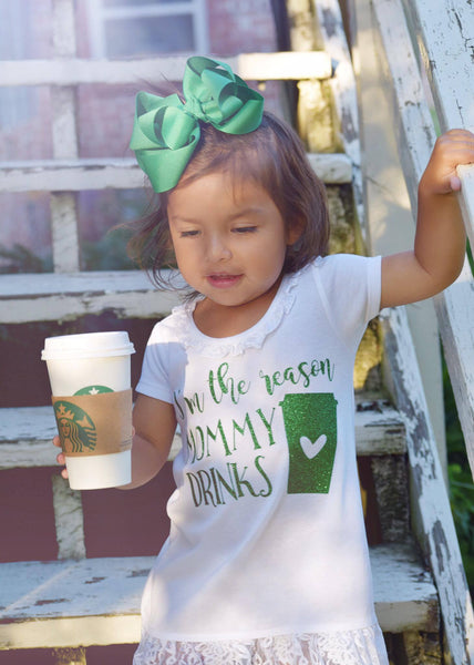 I'm the Reason Mommy Drinks (coffee) Dress