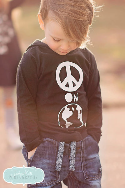 Peace on Earth T-Shirt Hoodie