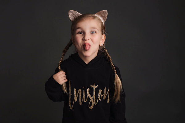 Toddler Personalized Hoodie (Script Font)