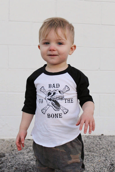 Bad To The Bone Raglan