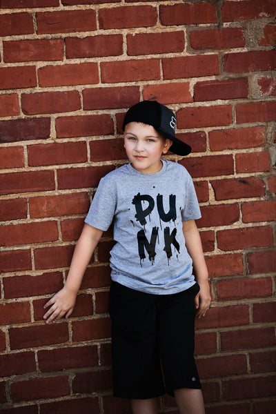 Punk Tee (Black Design)