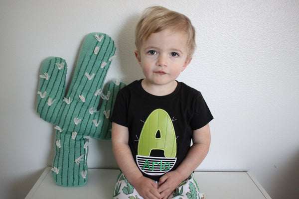 Personalized Cactus Tee