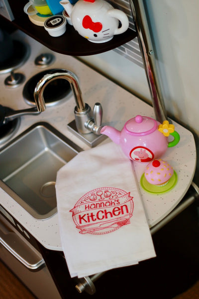 Personalized Play Kitchen Towel