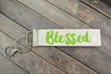 Lime Blessed Keychain | SALE