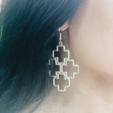 Braxton Earrings - Silver