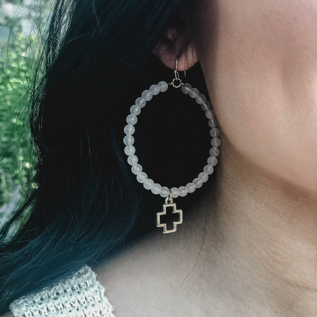 Brûlée Hoop Earrings