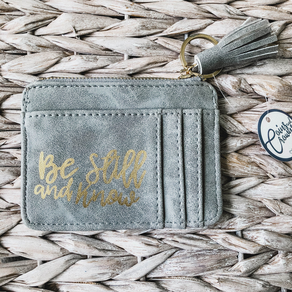 Be Still & Know ID Pouch