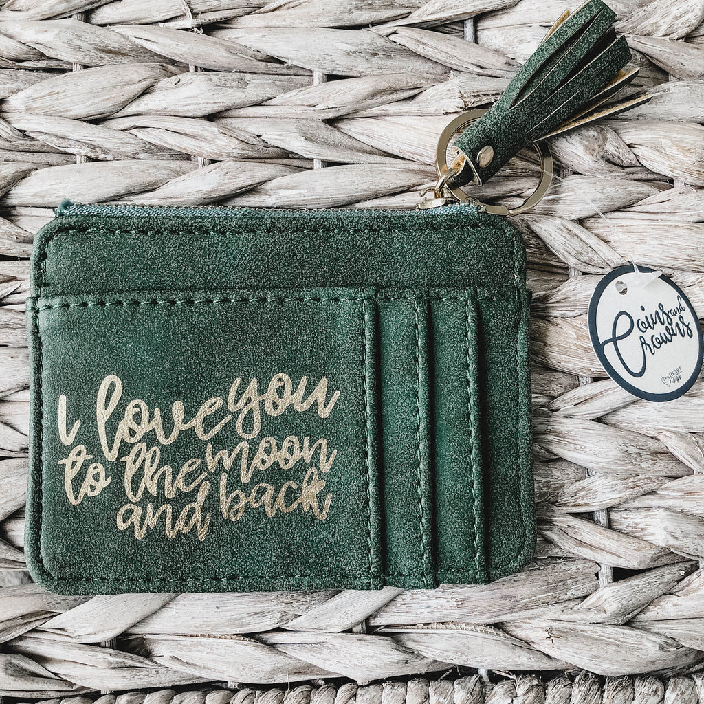 I Love You To The Moon & Back ID Pouch