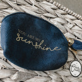You Are My Sunshine Coin Purse