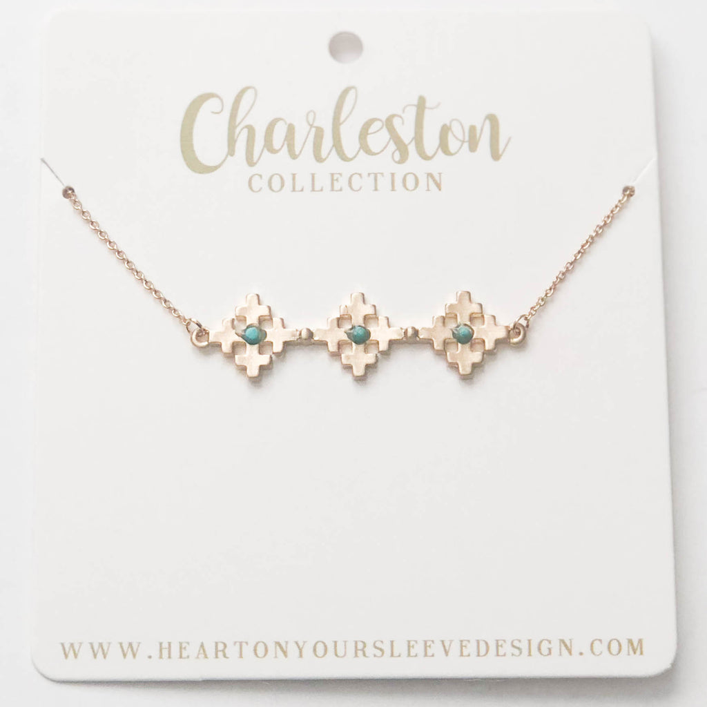 Turquoise Charleston Necklace