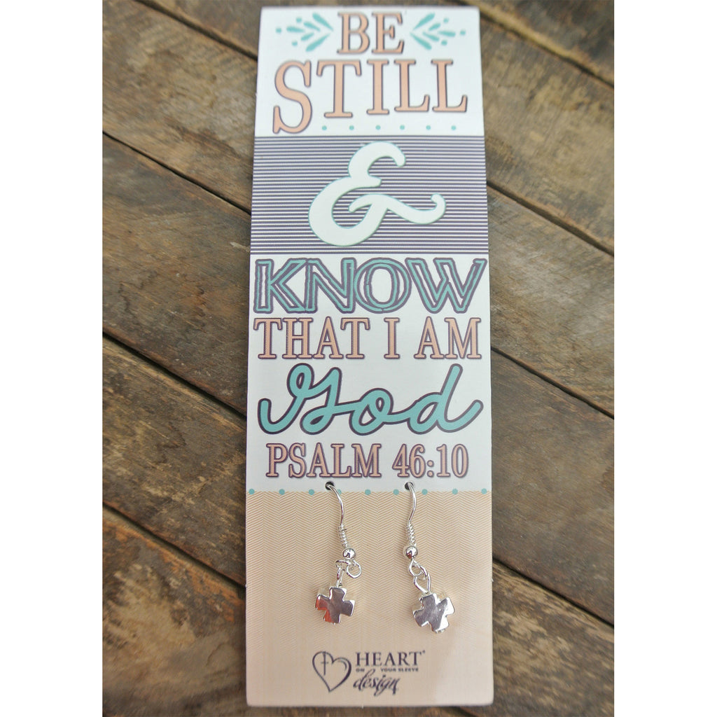 Be Still Bible Journaling Earrings