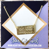 'Be Still & Know' Necklace