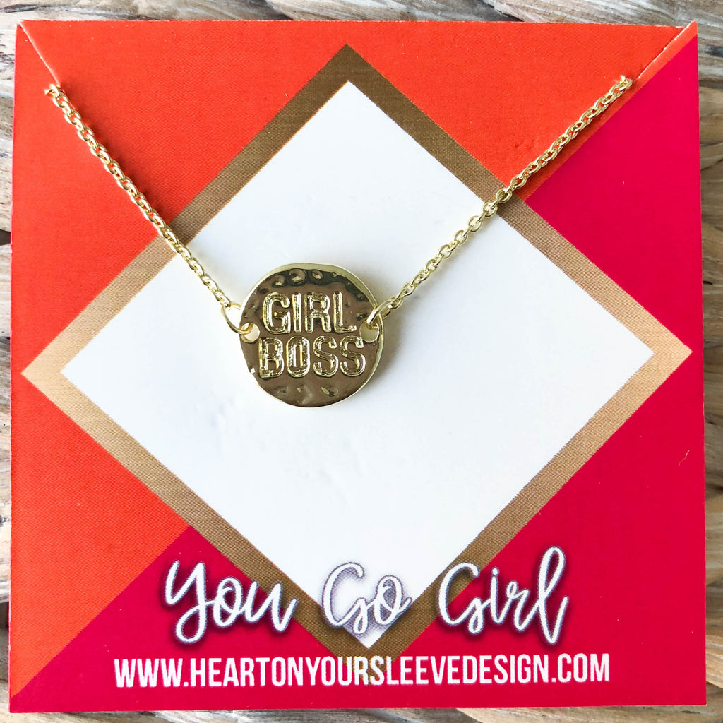'Girl Boss' Necklace
